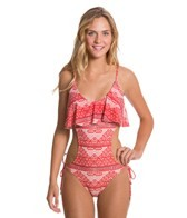 Sofia Kilim Cropped One Piece Swimsuit