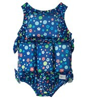 My Pool Pal Girls' Dot's and Daisies Float Suit