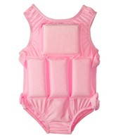 My Pool Pal Girls' Bubble Gum Pink Float Suit
