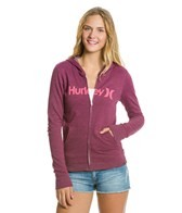 hurley-one---only-slim-fleece-zip-up-hoodie