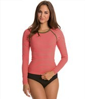 Sperry Top-Sider Women's Front Lines L/S Rashguard
