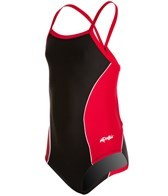 Dolfin Team Color Color Block Youth V-2 Back