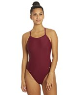 Dolfin Xtra Life Lycra Solid Female V-2 Back