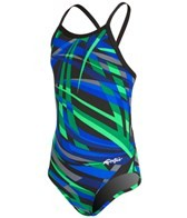 Dolfin All Poly Alpha Youth V Back