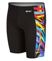 Dolfin All Poly Alpha Mens Spliced Jammer Swimsuit