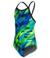 Dolfin Winners Siren Youth V-2 Back One Piece Swimsuit