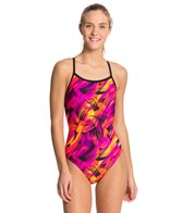 Dolfin Winners Siren Female V-2 Back One Piece Swimsuit