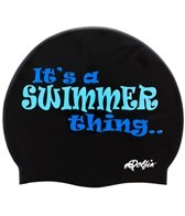 Dolfin Swim Thing Silicone Swim Cap