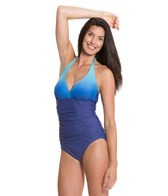 aerin-rose-ombre-lapis-shirred-halter-underwire-d-dd-f-one-piece