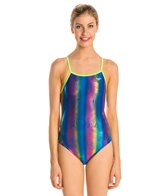 The Finals Funnies Witching Tree Foil Female Wing Back One Piece Swimsuit