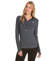 New Balance Women's Impact Running Half Zip Top Graphic