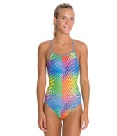 Dolfin Uglies Vivi Print Womens V-2 Back Swimsuit