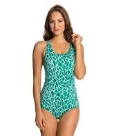 Dolfin Aquashape Conservative Solara Print Lap Suit