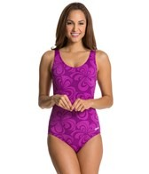 Dolfin Aquashape Moderate Scoop Back Lilly Print