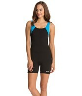 Dolfin Aquashape Aquatard Color Block Unitard Swimsuit
