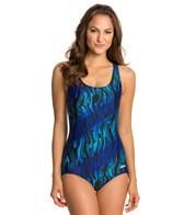Dolfin Aquashape Xtra Life Lycra Aero Print Lap Suit