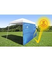 ezShade Canopy Curtain Angled Leg Beach Tent