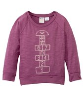 Roxy Girls' Hopscotch L/S Raglan Tee (2-7)