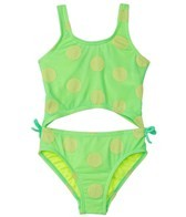 Hula Star Girls' Novelty Dot Monokini (4-6X)