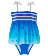Hula Star Girls' Summer Breeze Skirtini One Piece (4-6X)