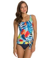 Jag Tropical Beat Tank One Piece Swimsuit