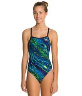 The Finals Jungle Cat Female Butterfly Back One Piece Swimsuit