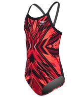 The Finals Hyperblast Youth Butterfly Back One Piece Swimsuit