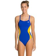 The Finals Swerve Splice Female Butterfly Back One Piece Swimsuit