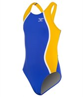 The Finals Glide Splice Youth Super V-Back One Piece Swimsuit