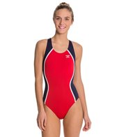 The Finals Glide Splice Female Super V-Back One Piece Swimsuit