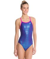 The Finals Funnies Matrix Foil Female Wing Back One Piece Swimsuit
