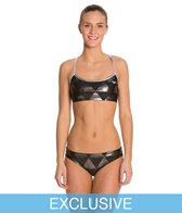 Swimoutlet Exclusive The Finals Funnies Right Angle Foil Female 2 PC Work Out Bikini