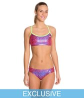Swimoutlet Exclusive The Finals Funnies Droplet Foil Female 2 PC Work Out Bikini