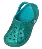 Crocs Girls' Baya Hi Glitter Clog