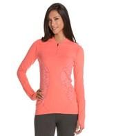 Vimmia Lace Half-Zip Yoga Pullover