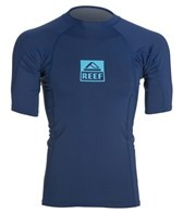 Reef Men's Logo Rash 3 Short Sleeve Rashguard