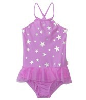 Seafolly Girls La Mermaid Apron Tank One Piece (6mos-7yrs)
