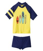 Tiger Joe Boys' Skeleton Island Rashie Set (6mos-8yrs)
