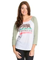 Billabong Bear Hugz Baseball Tee