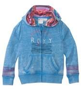 Roxy Girls' Brookyn Zip Front Hoodie (2-7)