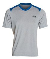 The North Face Men's Reactor Running Short Sleeve V-Neck