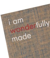 Affirmats I am Wonderfully Made Mat