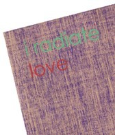 Affirmats I Radiate Love Yoga Mat