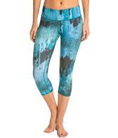 Alo Printed Airbrushed Yoga Capris
