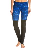 Alo Goddess Printed Ribbed Yoga Leggings