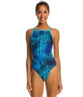 Waterpro Matrix Thin Strap One Piece Swimsuit