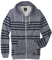 Quiksilver Men's Major Stripes Zip Up Hoodie