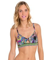 Trina Turk Adjustable Strap Sports Bra