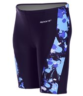 Sporti Paint Splatter Piped Splice Jammer Swimsuit Youth (22-28)
