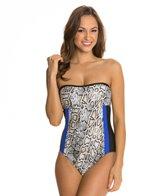 Athena Python Strapback One Piece Swimsuit